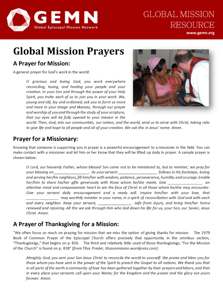 Global Mission Worship And Prayer Resources Global border=