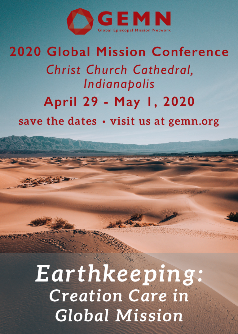2020 Conference – Indianapolis – GLOBAL EPISCOPAL MISSION